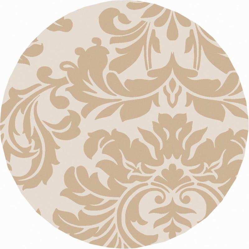 Surya ATH-5133 Athena Hand Tufted Wool Rug Brown 8 x 8 Round Home