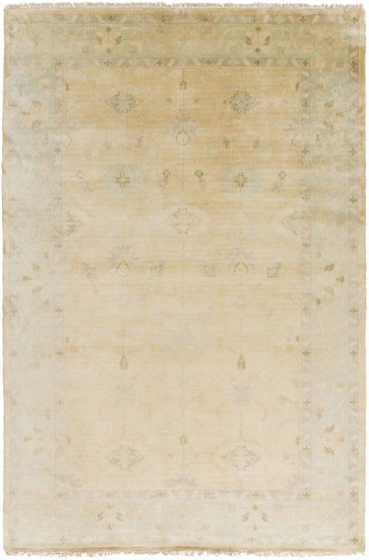 Surya ATQ-1011 Antique Hand Knotted New Zealand Wool Rug Off-White 5 Sale $2241.00 ITEM: bci2660966 ID#:ATQ1011-5686 UPC: 888473222040 :