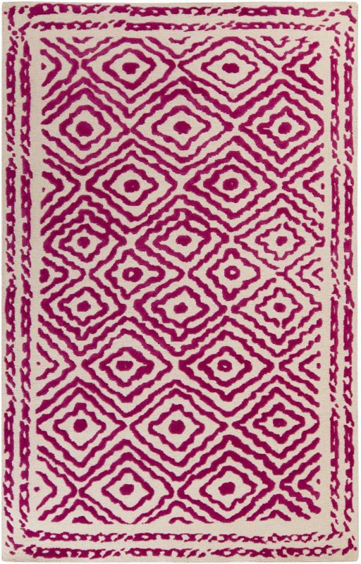 Surya ATS-1005 Atlas Hand Knotted Wool Rug Pink 2 x 3 Home Decor Rugs Sale $180.08 ITEM: bci2660993 ID#:ATS1005-23 UPC: 764262923872 :