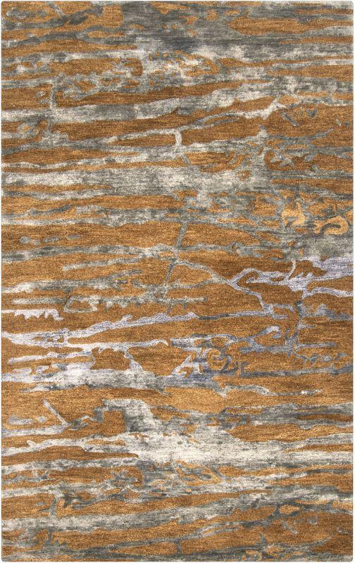 Surya BAN-3300 Banshee Hand Tufted New Zealand Wool Rug Brown 5 x 8