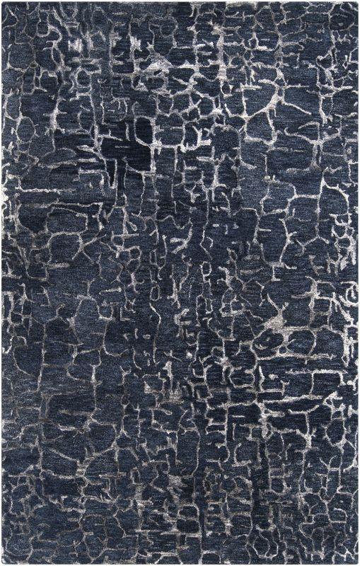 Surya BAN-3306 Banshee Hand Tufted New Zealand Wool Rug Blue 5 x 8