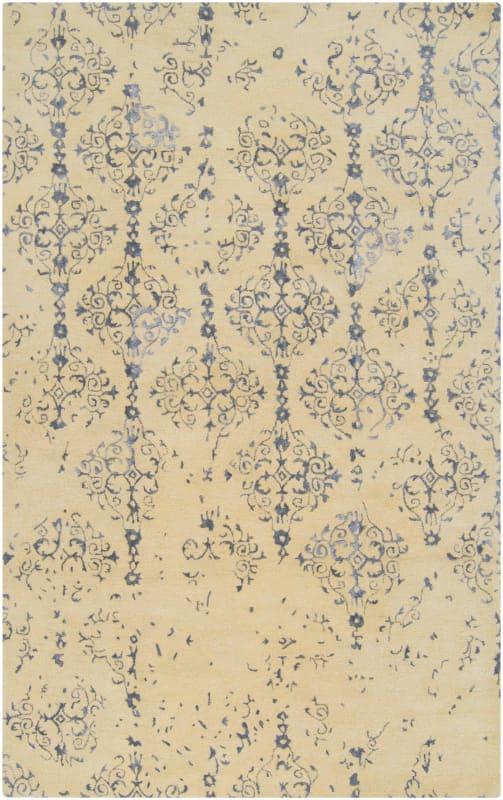 Surya BAN-3315 Banshee Hand Tufted New Zealand Wool Rug Blue 9 x 13