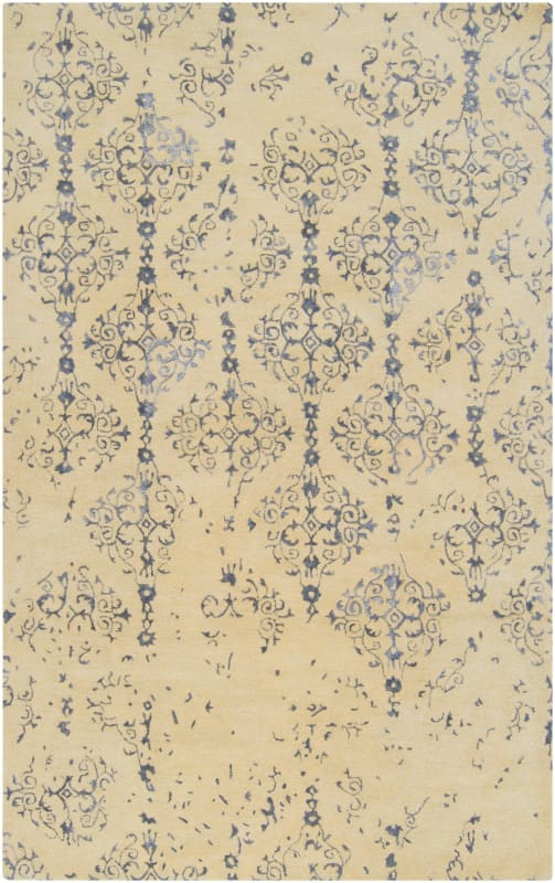 Surya BAN-3315 Banshee Hand Tufted New Zealand Wool Rug Blue 9 x 13 Sale $2821.80 ITEM: bci2661283 ID#:BAN3315-913 UPC: 764262834468 :