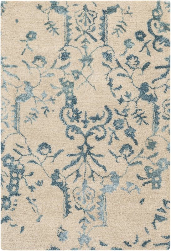 Surya BAN-3326 Banshee Hand Tufted New Zealand Wool Rug Green 2 x 3 Sale $144.60 ITEM: bci2661291 ID#:BAN3326-23 UPC: 764262693584 :