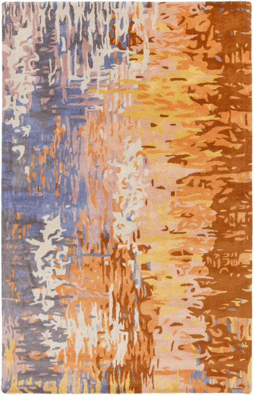 Surya BAN-3345 Banshee Hand Tufted New Zealand Wool Rug Pink 5 x 8 Sale $876.60 ITEM: bci2661338 ID#:BAN3345-58 UPC: 764262667417 :