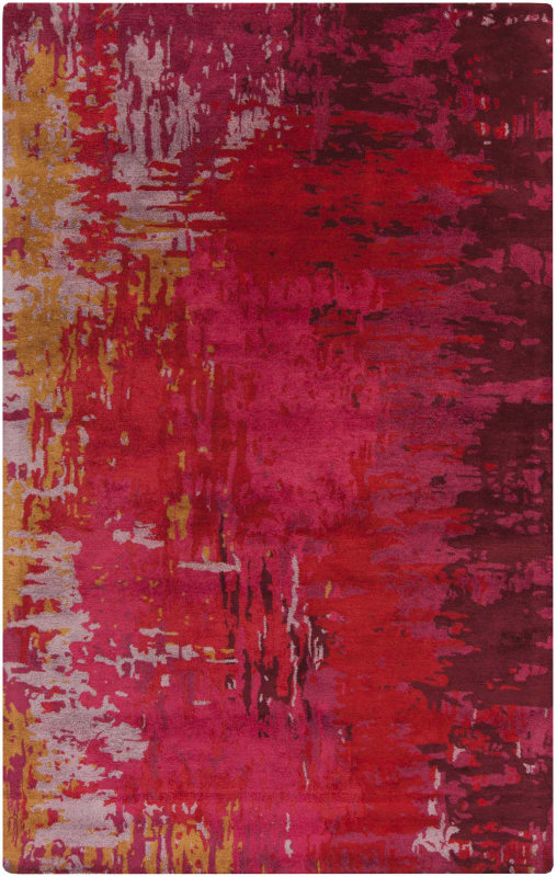 Surya BAN-3347 Banshee Hand Tufted New Zealand Wool Rug Red 5 x 8 Home Sale $876.60 ITEM: bci2661348 ID#:BAN3347-58 UPC: 764262667530 :