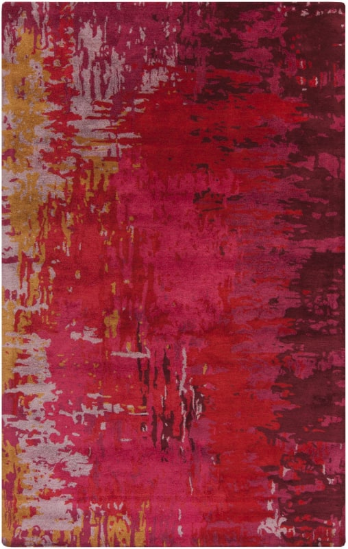Surya BAN-3347 Banshee Hand Tufted New Zealand Wool Rug Red 8 x 11 Sale $1927.20 ITEM: bci2661349 ID#:BAN3347-811 UPC: 764262667547 :