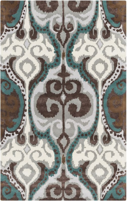 Surya BAN-3350 Banshee Hand Tufted New Zealand Wool Rug Blue 2 x 3 Sale $144.60 ITEM: bci2661361 ID#:BAN3350-23 UPC: 764262756753 :