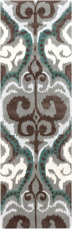 Surya BAN-3350 Banshee Hand Tufted New Zealand Wool Rug Blue 2 1/2 x 8 Sale $483.00 ITEM: bci2661360 ID#:BAN3350-268 UPC: 764262756708 :