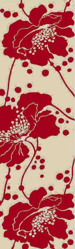 Surya BBC-2003 Bondi Beach Hand Woven Polypropylene Rug Red 9 x 12