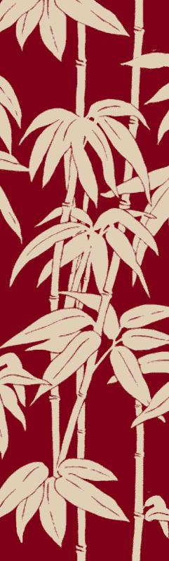 Surya BBC-2009 Bondi Beach Hand Woven Polypropylene Rug Red 9 x 12