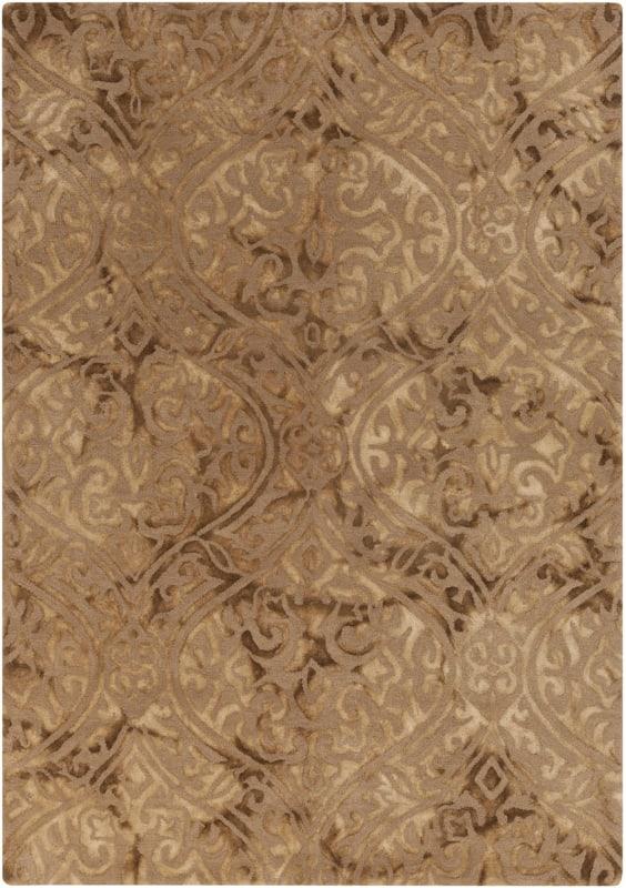 Surya BDA-3000 Belladonna Hand Tufted Wool Rug Green 5 x 7 1/2 Home