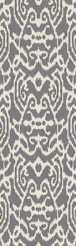 Surya BDA-3001 Belladonna Hand Tufted Wool Rug Blue 2 1/2 x 8 Home