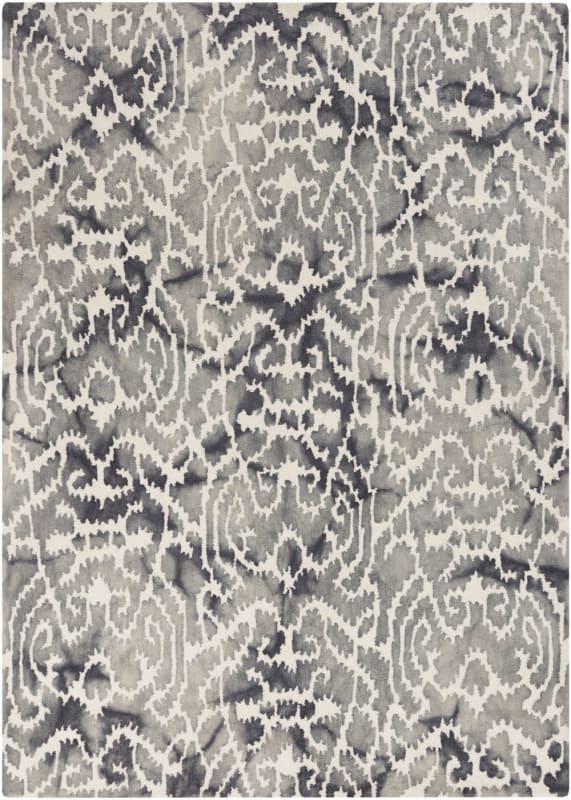 Surya BDA-3001 Belladonna Hand Tufted Wool Rug Blue 5 x 7 1/2 Home