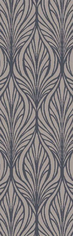 Surya BDA-3005 Belladonna Hand Tufted Wool Rug Gray 8 x 10 Home Decor