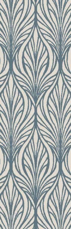 Surya BDA-3006 Belladonna Hand Tufted Wool Rug Green 2 1/2 x 8 Home