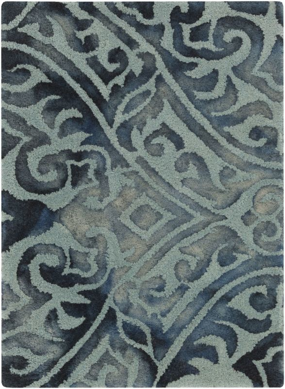Surya BDA-3007 Belladonna Hand Tufted Wool Rug Green 2 x 3 Home Decor