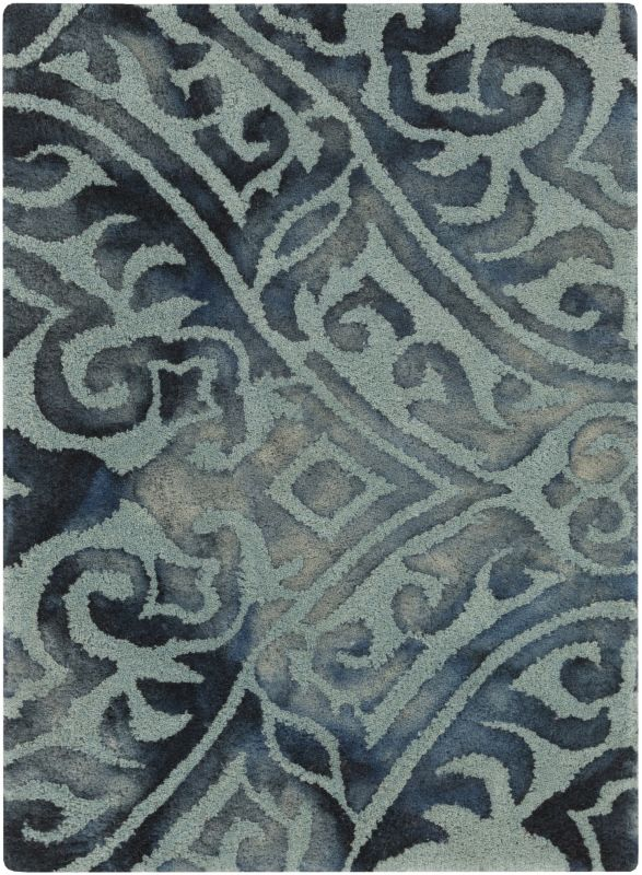 Surya BDA-3007 Belladonna Hand Tufted Wool Rug Green 8 x 10 Home Decor