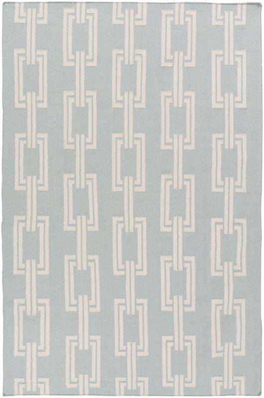 Surya BDW-4040 Boardwalk Hand Woven Wool Rug Gray 2 x 3 Home Decor