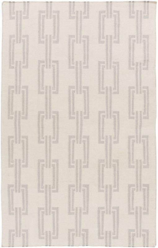 Surya BDW-4042 Boardwalk Hand Woven Wool Rug Gray 2 x 3 Home Decor