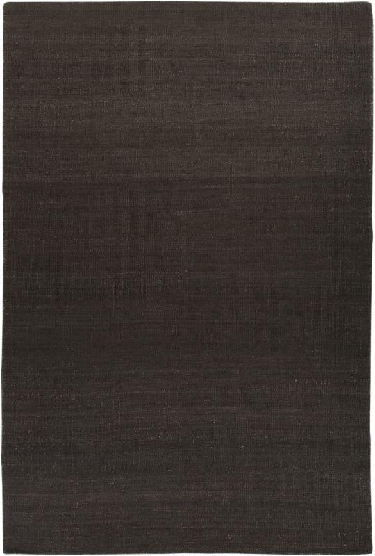 Surya BER-1000 Bermuda Hand Woven Jute Rug Black 5 x 8 Home Decor Rugs