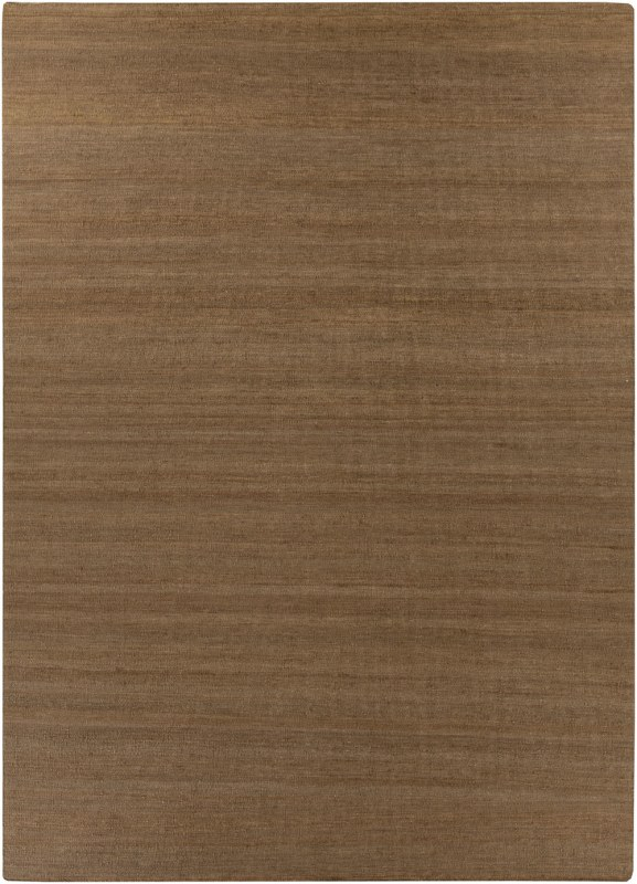 Surya BER-1002 Bermuda Hand Woven Jute Rug Brown 8 x 11 Home Decor