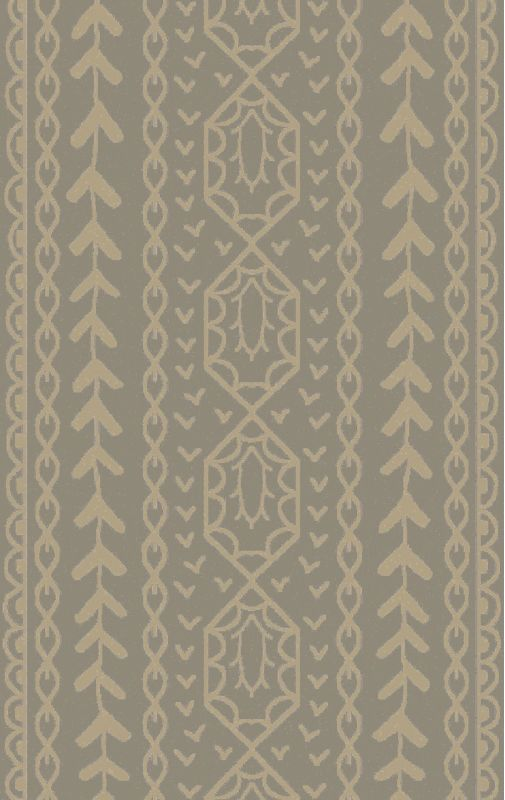 Surya BJR-1001 Bjorn Hand Knotted Hemp Rug Gray 3 x 5 Home Decor Rugs