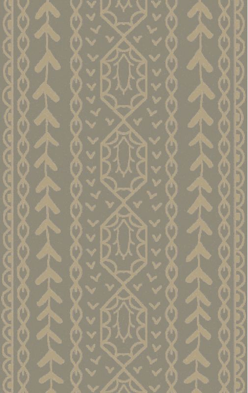 Surya BJR-1001 Bjorn Hand Knotted Hemp Rug Gray 5 x 8 Home Decor Rugs