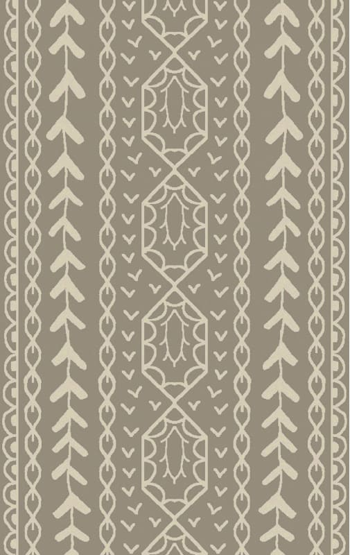Surya BJR-1002 Bjorn Hand Knotted Hemp Rug Green 5 x 8 Home Decor Rugs