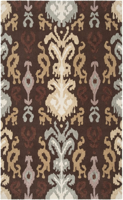 Surya BNT-7673 Brentwood Hand Woven Polyester Rug Brown 8 x 10 Home