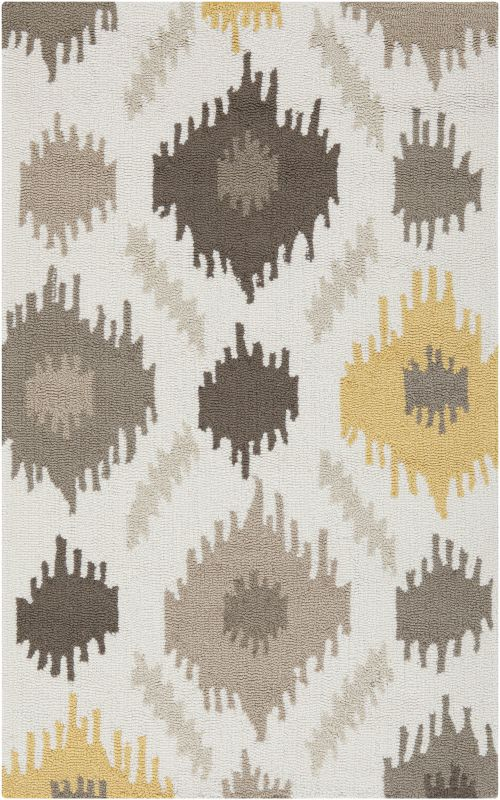 Surya BNT-7676 Brentwood Hand Woven Polyester Rug Gold 2 1/2 x 4 Home Sale $104.40 ITEM: bci2662023 ID#:BNT7676-264 UPC: 764262645842 :