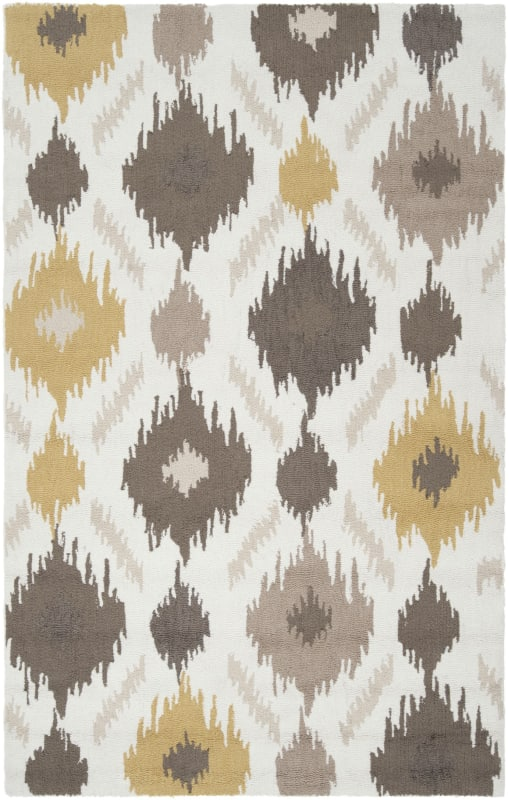 Surya BNT-7676 Brentwood Hand Woven Polyester Rug Gold 3 1/2 x 5 1/2