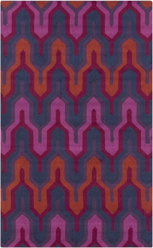 Surya BNT-7703 Brentwood Hand Woven Polyester Rug Gray 2 x 2 1/2 Home