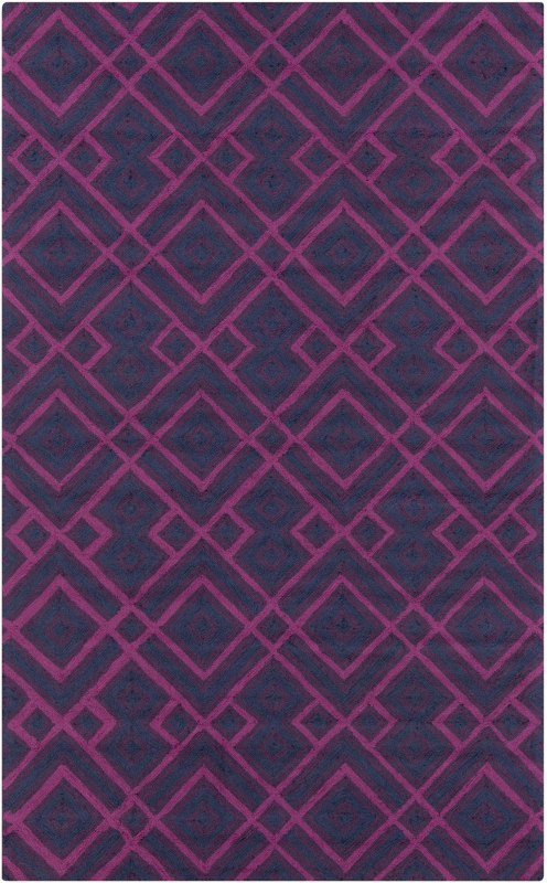 Surya BNT-7705 Brentwood Hand Woven Polyester Rug Pink 8 x 10 Home