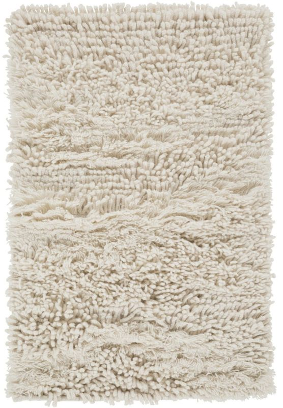 Surya BRK-3300 Berkley Hand Woven New Zealand Wool Rug Off-White 9 x