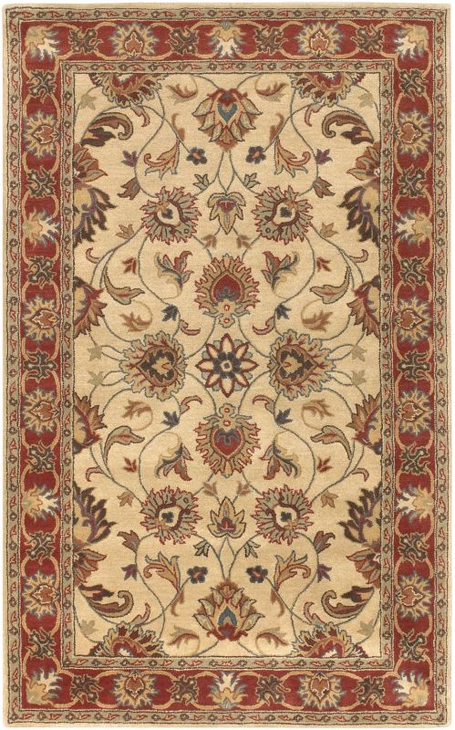 Surya CAE-1001 Caesar Hand Tufted Wool Rug Brown 10 x 14 Home Decor