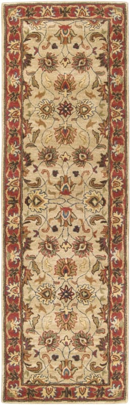 Surya CAE-1001 Caesar Hand Tufted Wool Rug Brown 2 1/2 x 8 Home Decor