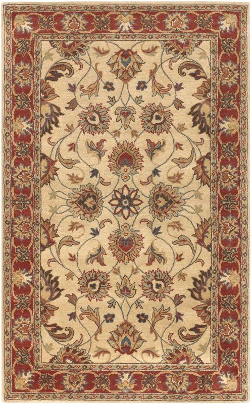 Surya CAE-1001 Caesar Hand Tufted Wool Rug Brown 6 x 9 Home Decor Rugs
