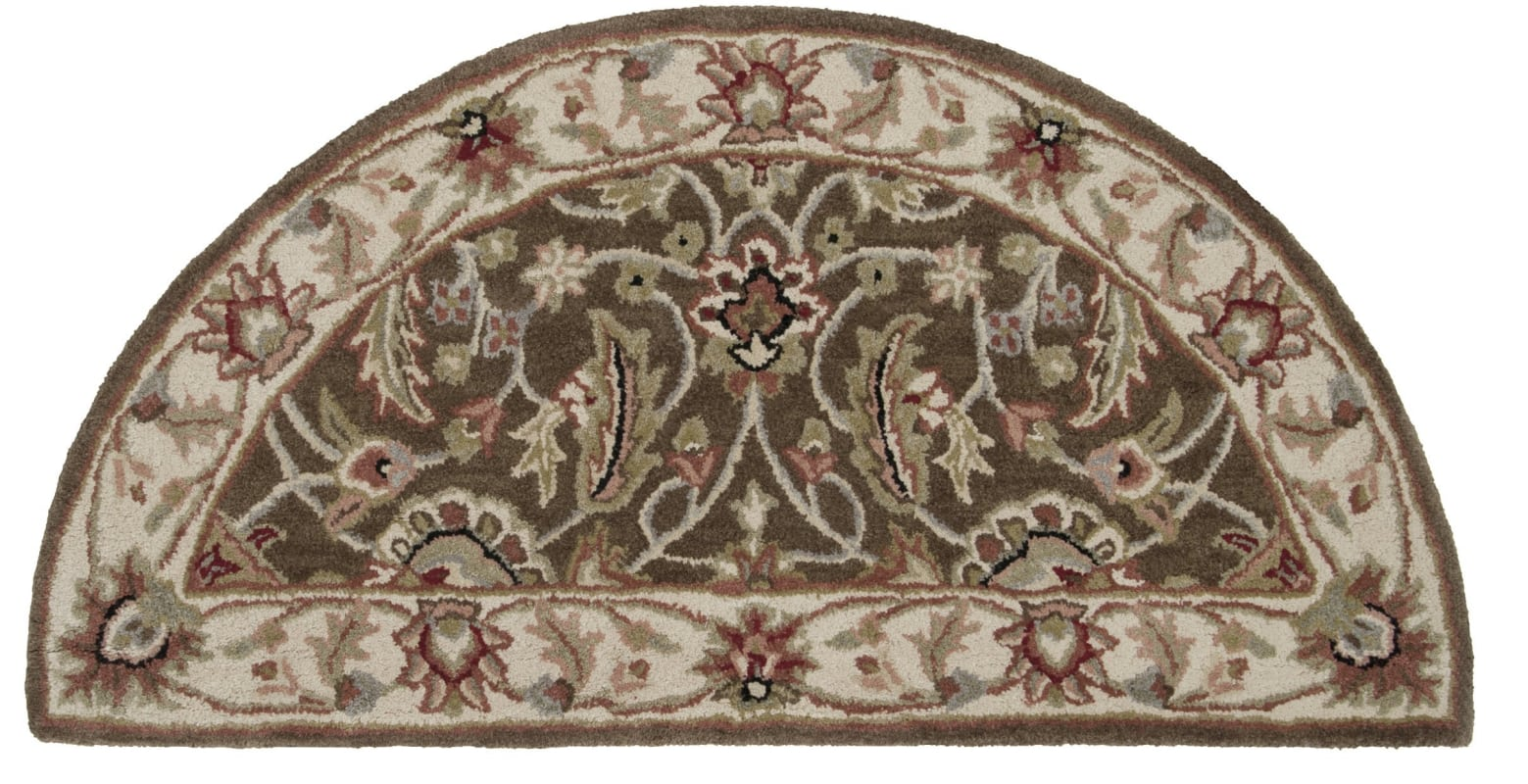 Surya CAE-1003 Caesar Hand Tufted Wool Rug Brown 2 x 4 Hearth Home