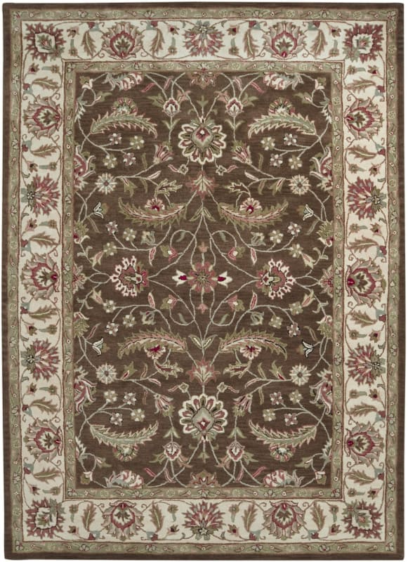 Surya CAE-1003 Caesar Hand Tufted Wool Rug Brown 8 x 11 Home Decor