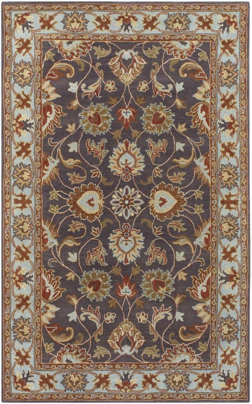 Surya CAE-1004 Caesar Hand Tufted Wool Rug Gray 10 x 14 Home Decor