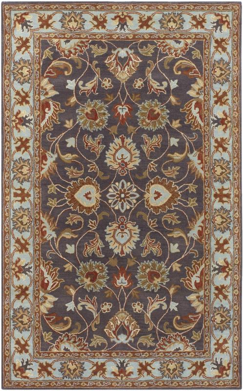 Surya CAE-1004 Caesar Hand Tufted Wool Rug Gray 10 Square Home Decor