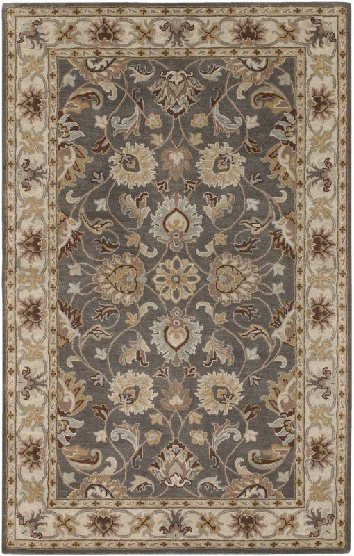 Surya CAE-1005 Caesar Hand Tufted Wool Rug Gray 6 Square Home Decor