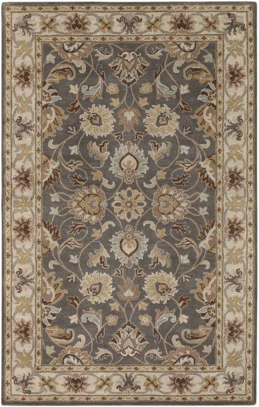 Surya CAE-1005 Caesar Hand Tufted Wool Rug Gray 7 1/2 x 9 1/2 Home