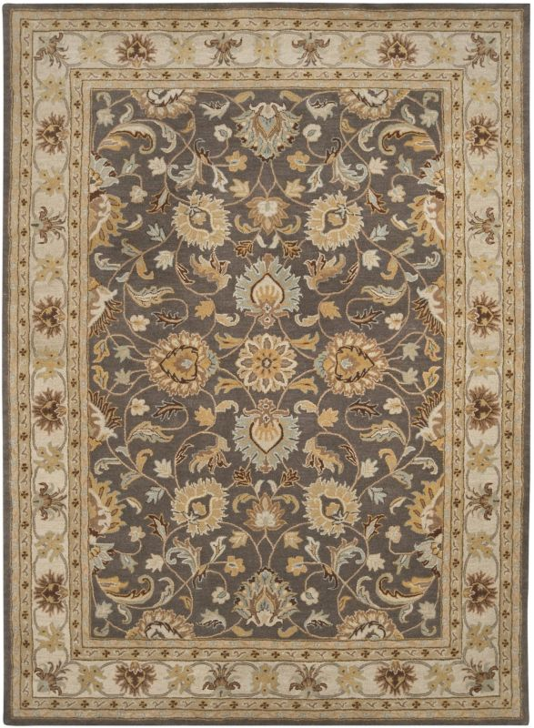 Surya CAE-1005 Caesar Hand Tufted Wool Rug Gray 8 x 11 Home Decor Rugs