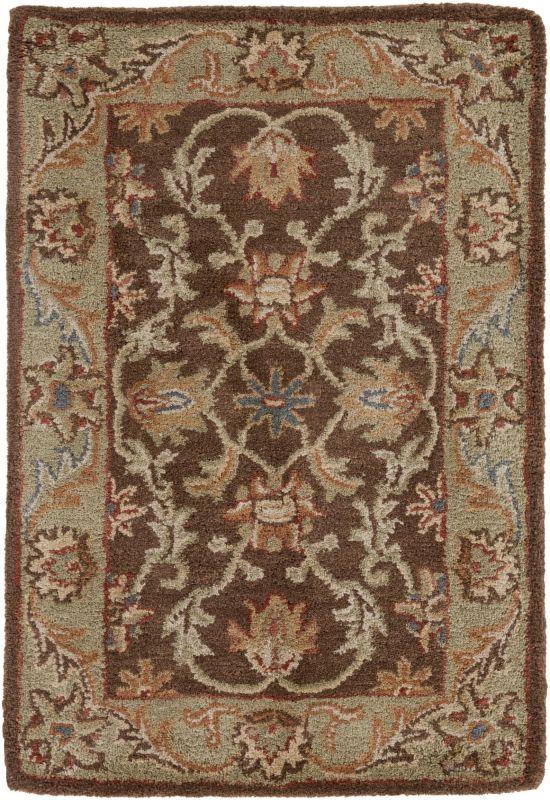 Surya CAE-1009 Caesar Hand Tufted Wool Rug Brown 2 x 3 Home Decor Rugs