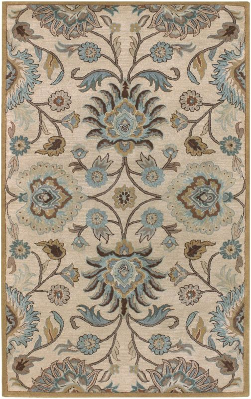 Surya CAE-1012 Caesar Hand Tufted Wool Rug Gray 10 x 14 Home Decor