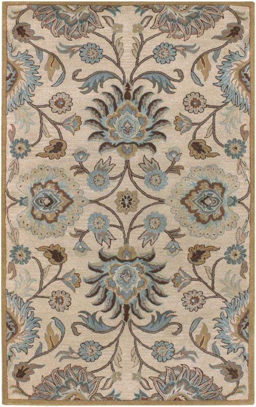 Surya CAE-1012 Caesar Hand Tufted Wool Rug Gray 12 x 15 Home Decor