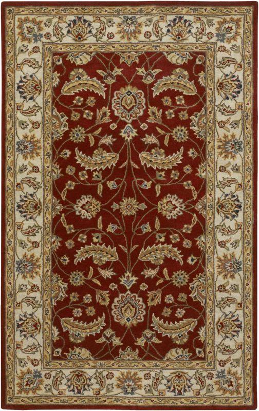 Surya CAE-1022 Caesar Hand Tufted Wool Rug Red 3 x 12 Home Decor Rugs