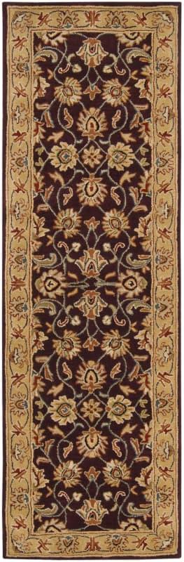 Surya CAE-1024 Caesar Hand Tufted Wool Rug Purple 2 1/2 x 8 Home Decor